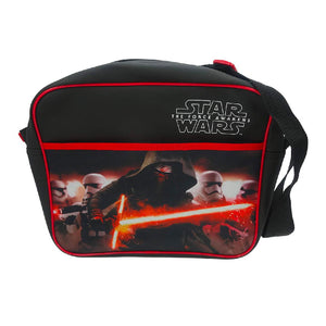 TMSTAR001025 - Star Wars The Force Awakens Rule The Galaxy Courier Bag - Click Distribution (UK) Ltd