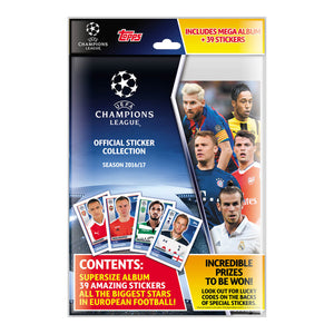 UCLSSP16/17 - Champions League 2016/17 Sticker Collection Starter Pack - Click Distribution (UK) Ltd