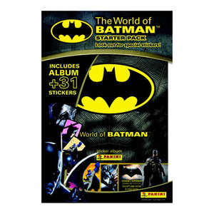 WOBSP - The World Of Batman Sticker Collection Starter Pack - Click Distribution (UK) Ltd