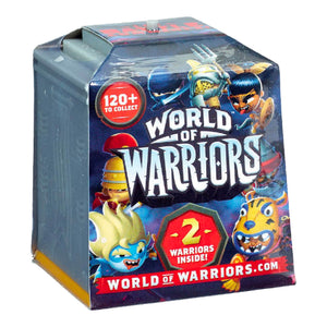 World Of Warriors 2 Pack Mini Figure Asst. - Click Distribution (UK) Ltd