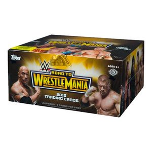 WWERTW - WWE Road To Wrestlemania 2015 Collector Cards - Click Distribution (UK) Ltd