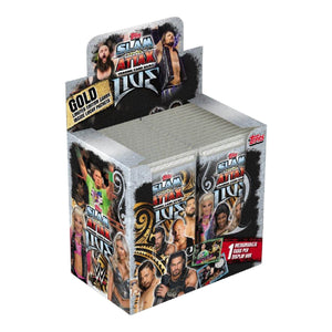 WWESA11P - WWE Slam Attax Live Trading Card Game Packs - Click Distribution (UK) Ltd
