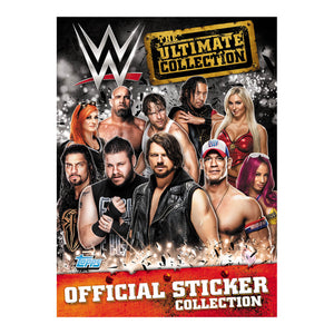 WWETUCSP - WWE The Ultimate Sticker Collection Starter Pack - Click Distribution (UK) Ltd
