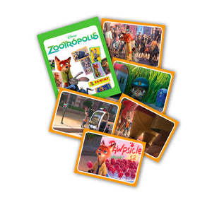 ZOOTROPST - Zootropolis Sticker Collection Packs - Click Distribution (UK) Ltd