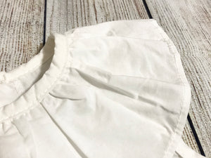 Fashion - White Sailor Top