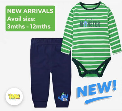 Little Monsters (Romper & Bottom) Set
