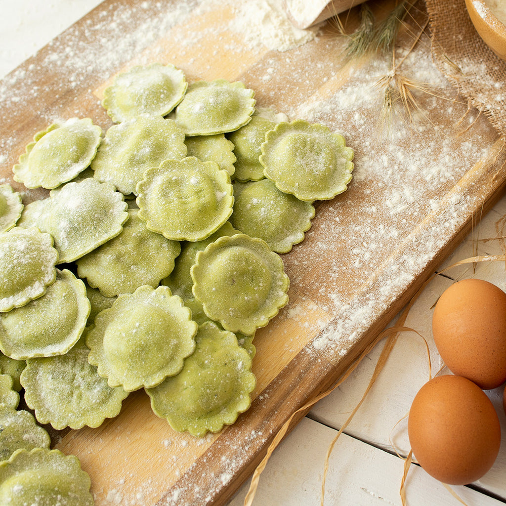 Ravioli Margherita all'Ortica