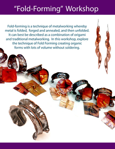 Fold Forming Workshop at Ohara Studios
