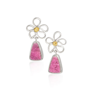 Plumeria Flower Earrings