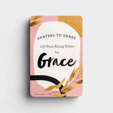 prayers to share pass-along notes | grace