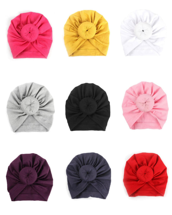 Top knot turban • Assorted colours
