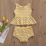 Sally stripe set