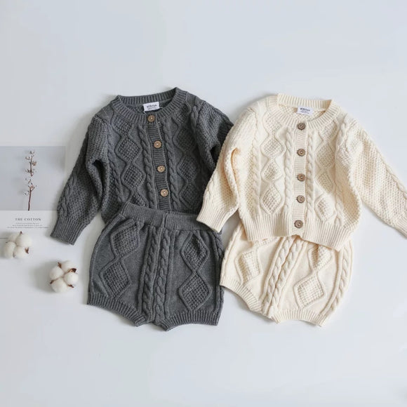 Roma knitted set