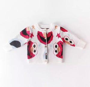 Elmo knitted cardigan