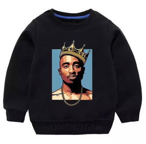 Tupac sweater • Crown colour