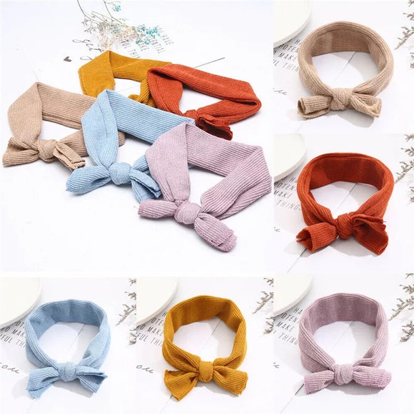 Tess ribbed headbands • Assorted colours