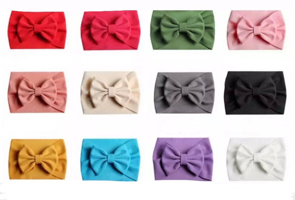 Bonnie headbands (0-12M) • Assorted colours