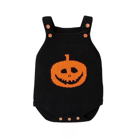 Knitted Halloween bodysuit