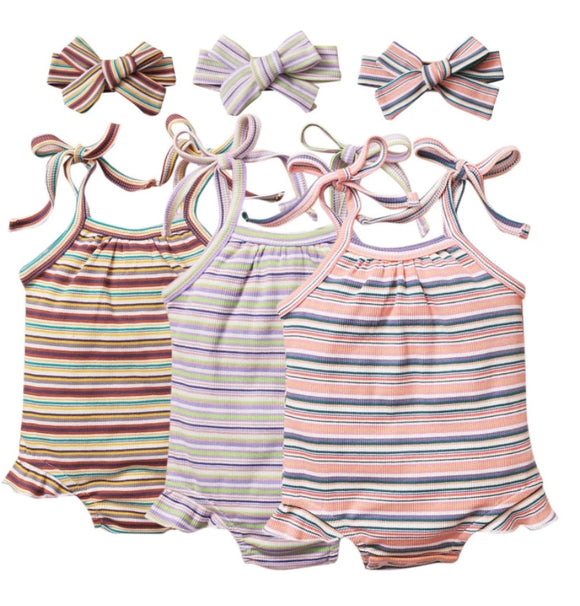 Perrie stripe set