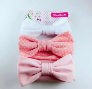 Lucy 3 pack headbands