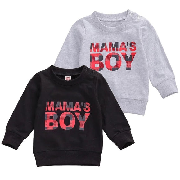 Mama's boy sweater