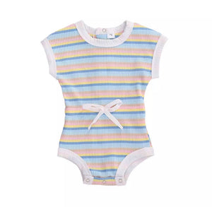 Oaklee stripe bodysuit