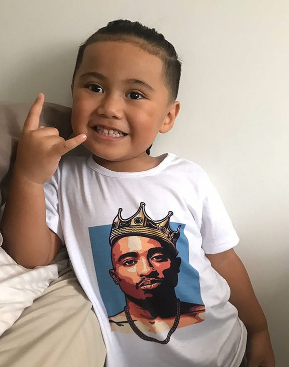 Tupac tee • Crown colour