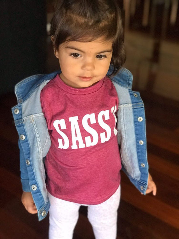 Sassy tee • Assorted colours