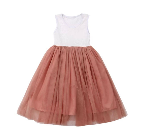 Alyssa tulle dress