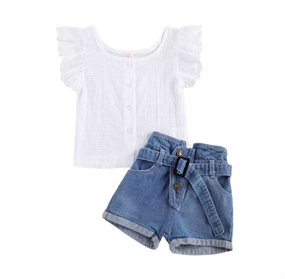 Marlie denim set
