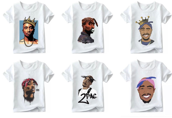 Tupac tee • Assorted prints