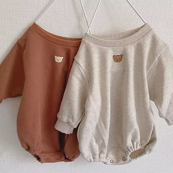 PREORDER • Teddy sweater romper