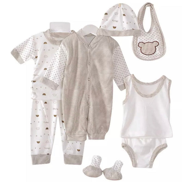 8 piece summer newborn set