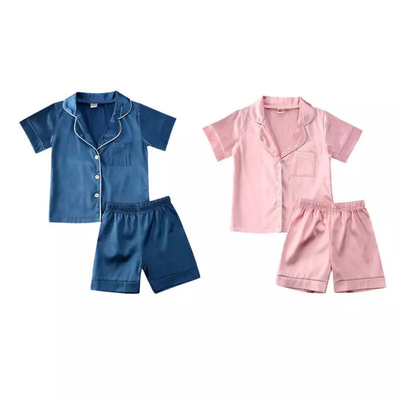 Satin summer PJs