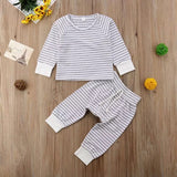 Lachy stripe set