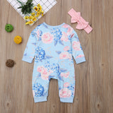Floral jumpsuit set