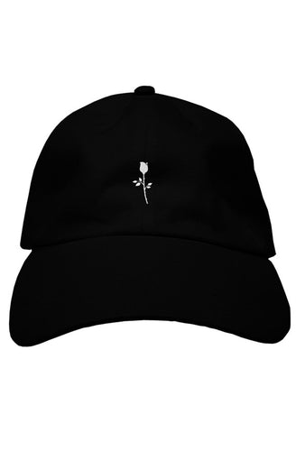 Hat - Rose - Black