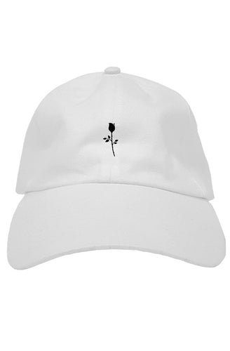 Hat - Rose - White