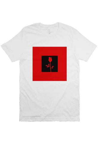 Rose - T Shirt - White