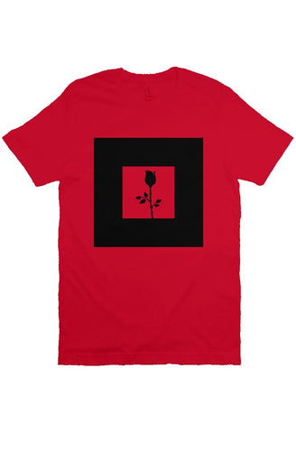 Rose - T Shirt - Red