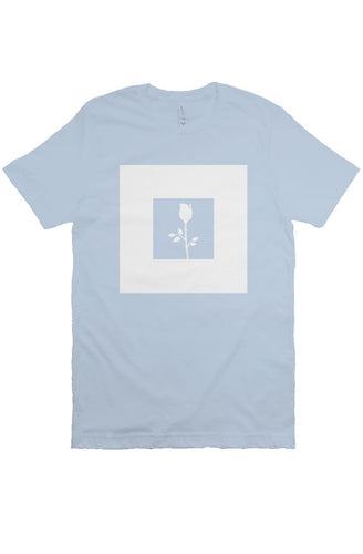 Rose - T Shirt - Blue