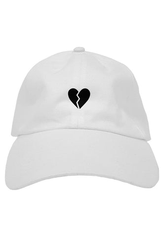 Broken - Hat - White