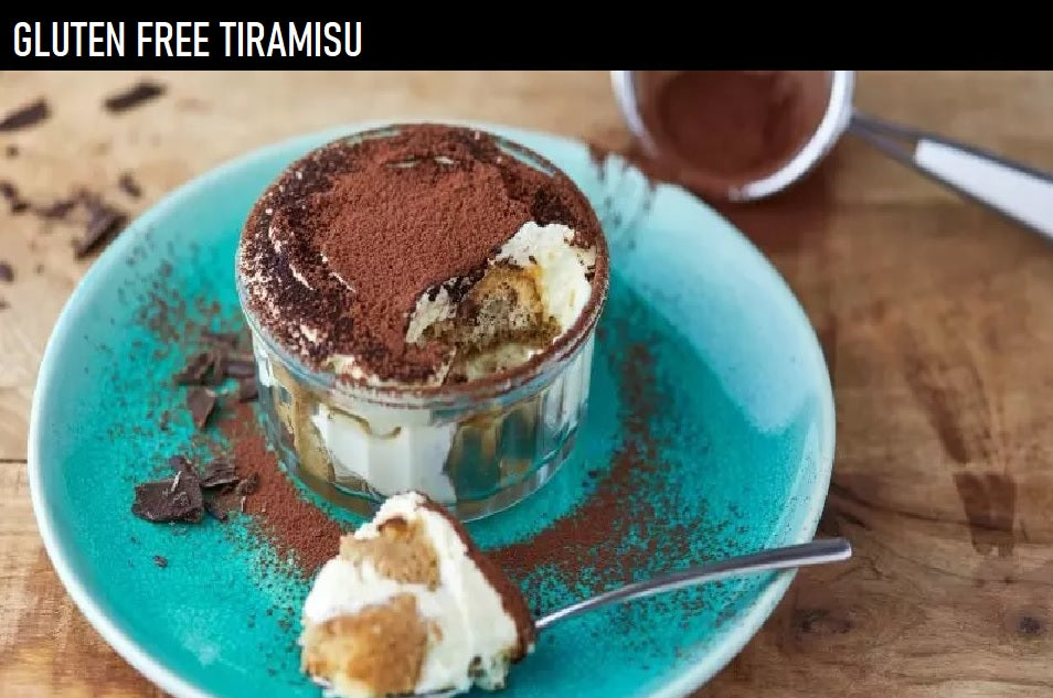 Gluten Free Tiramisu Recipe using Schar Savoiardi Spongefinger Biscuits