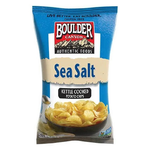 Boulder Canyon Sea Salt Chips 142g