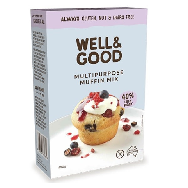 Well & Good - Multipurpose Muffin Mix 450g