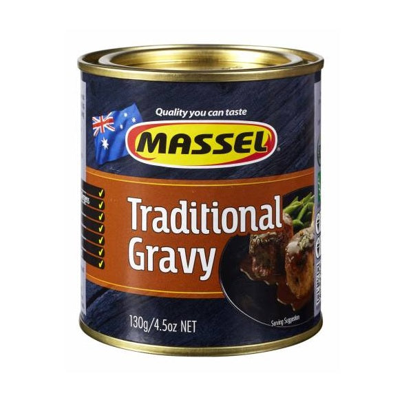 Massel Premium Gravy Powder Traditional Brown 130g