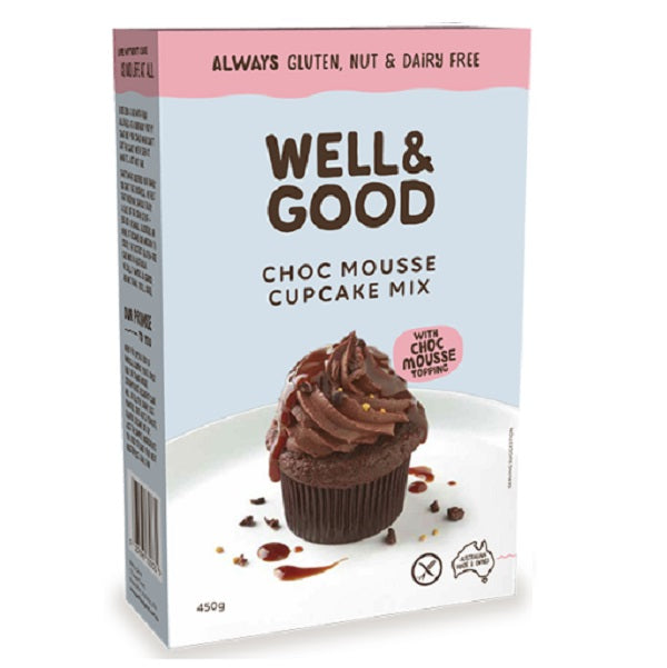 Well & Good - Chocolate Mousse Cupcake 450g