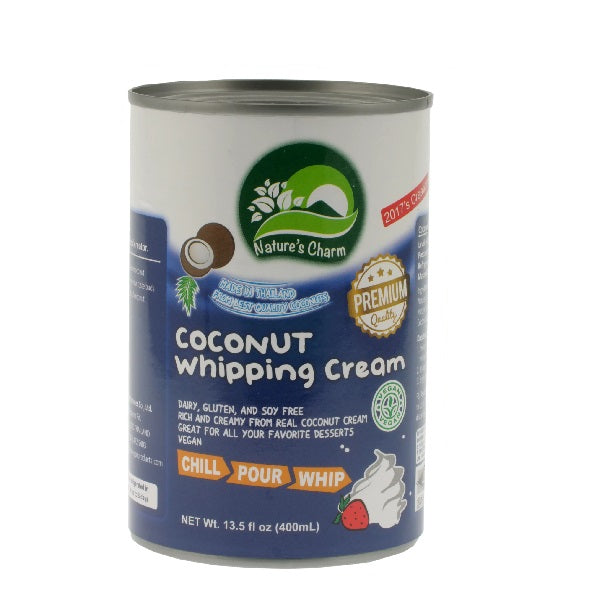 Natures Charm - Coconut Whipping Cream 400g