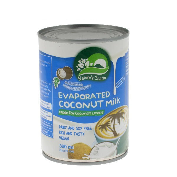 Natures Charm - Evaporated Coconut Milk 360ml