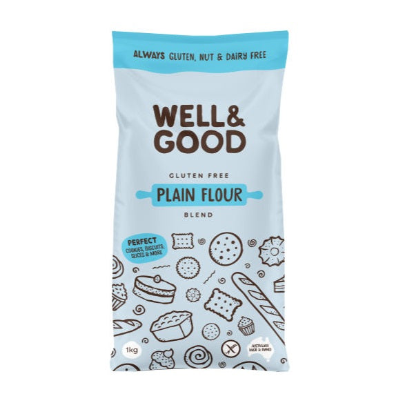 Well & Good - Plain Flour 1kg